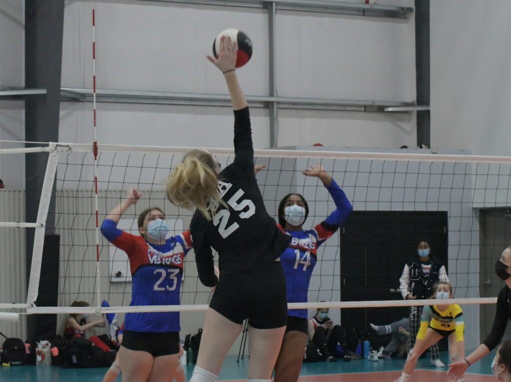 Club Volleyball Amanda Hit